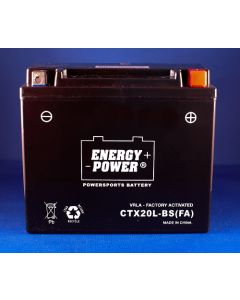 Harley Davidson CVO FXD Fat Bob 1803cc Motorcycle Battery - CTX20L-BS