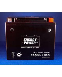 Yamaha YFM660FA Grizzly ATV Battery - CTX20L-BS