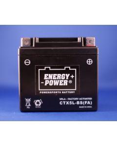 Aprilia Motorcycle Battery - CTX5L-BS